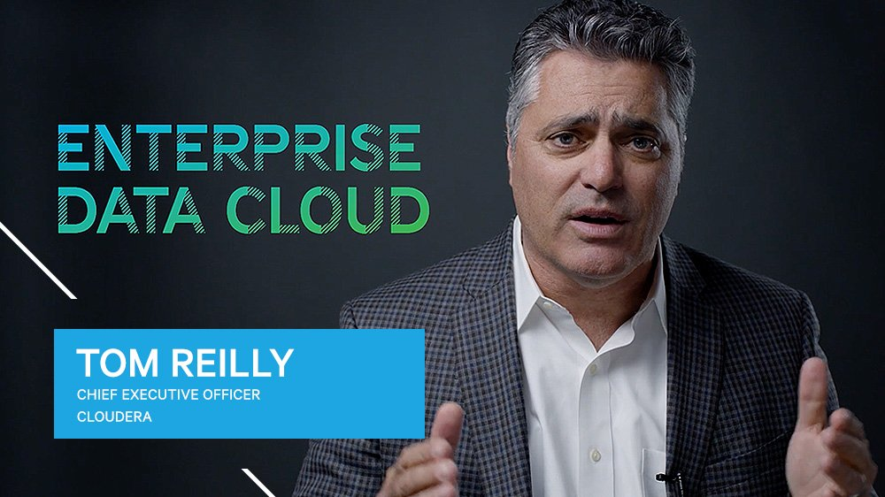 Tom Reilly, Cloudera CEO