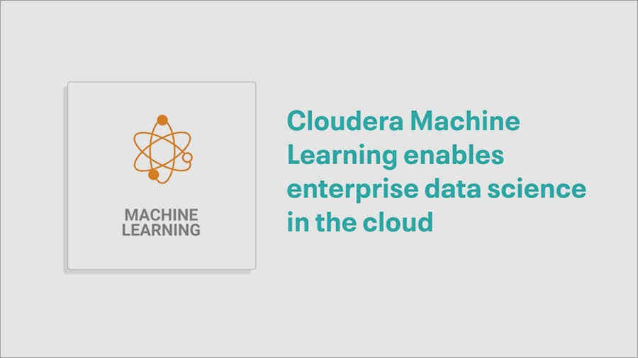 Cloudera Machine Learning video