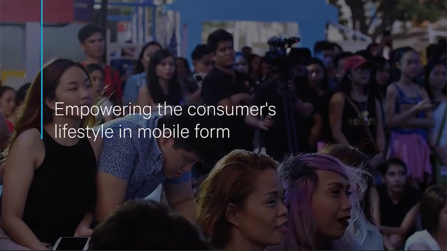 Globe Telecom customer video
