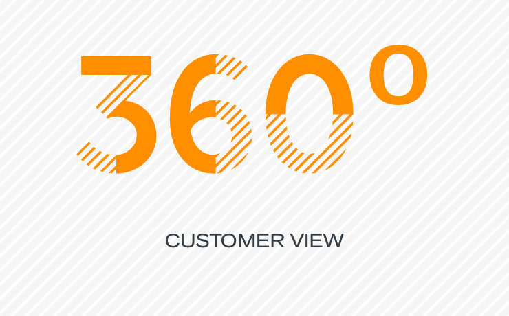 360 degree customer view