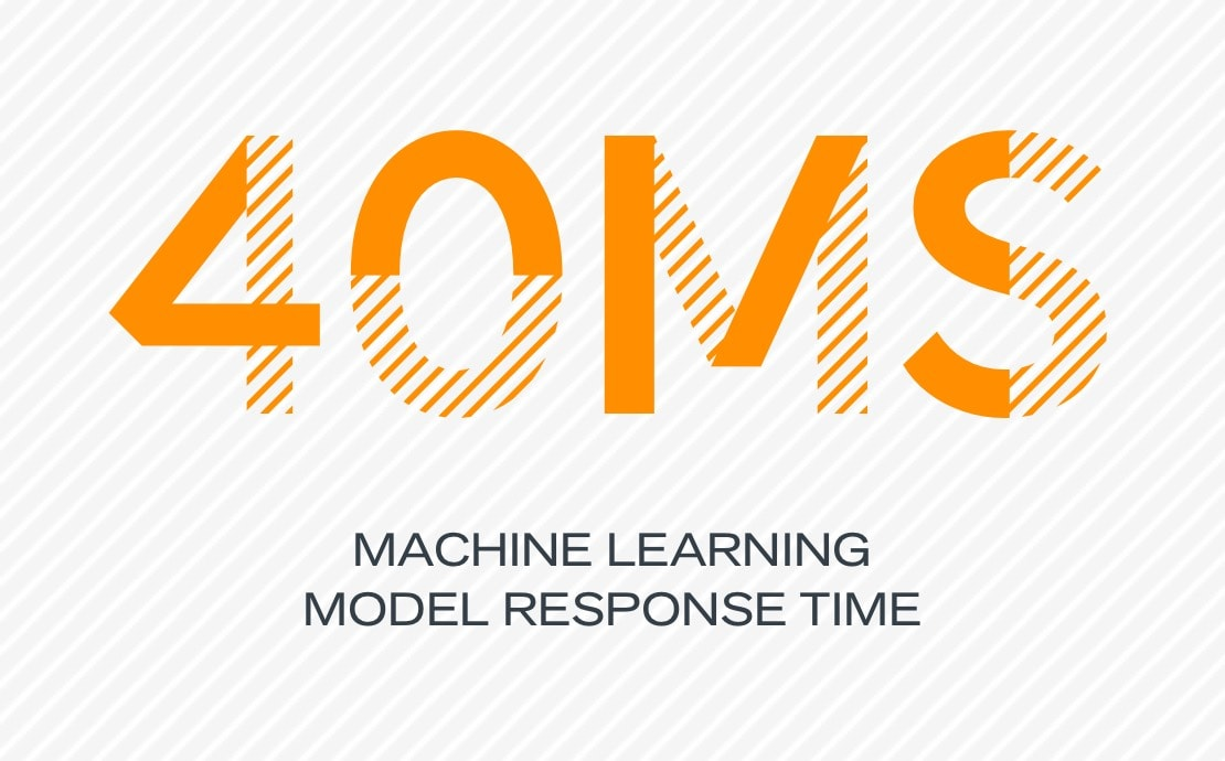 40ms machine learning models response time