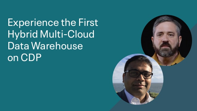 Experience the First Hybrid Multi-Cloud Data Warehouse on CDP