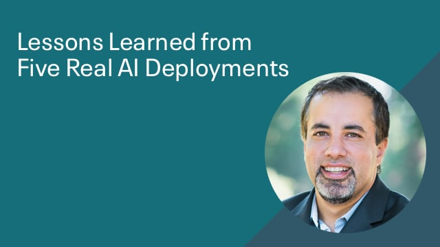 Lessons Learned from Five Real AI Deployments