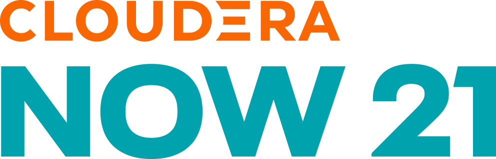 Cloudera Now 21 logo