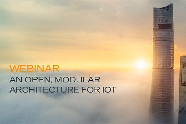 An Open and Modular Architecture for IoT
