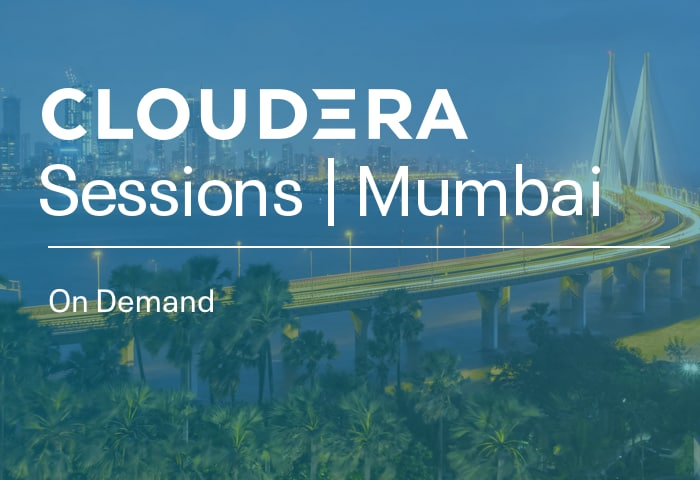 Cloudera Sessions Mumbai