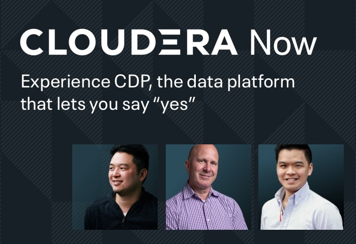 Cloudera Now Virtual Event