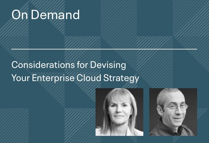 Considerations for Devising Your Enterprise Cloud Strategy