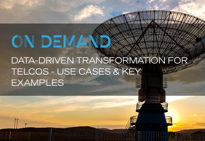 Data-Driven Transformation for Telcos - Use Cases & Key Examples