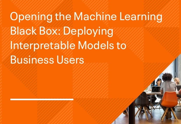 Opening the Machine Learning Black Box: Deploying Interpretable Models to Business Users