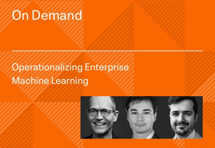 Operationalizing Enterprise Machine Learning