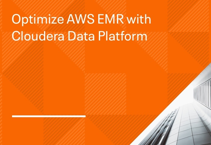 Optimize AWS EMR with Cloudera Data Platform