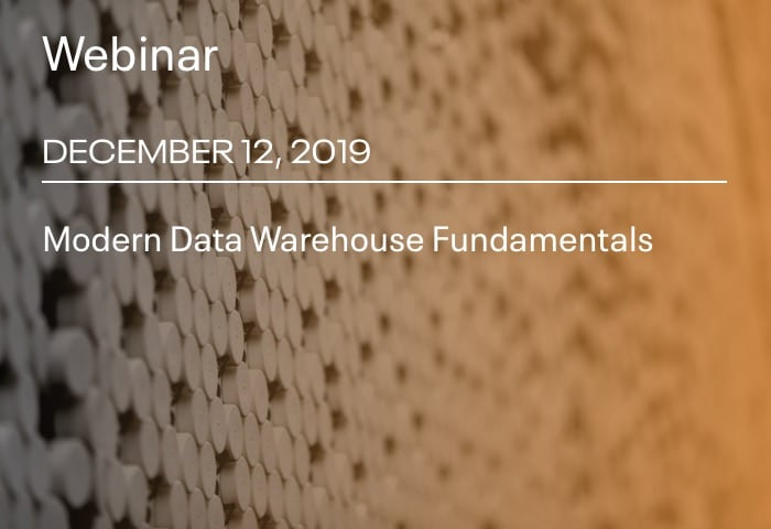 Modern Data Warehouse Fundamentals