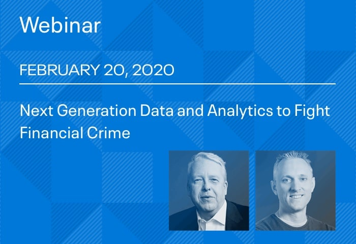 Next Generation Data and Analytics to Fight Financial Crime