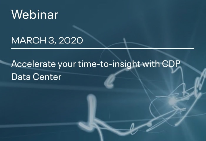 Accelerate your time-to-insight with CDP Data Center