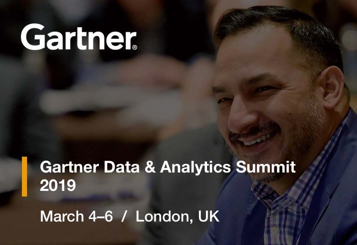 Gartner Data & Analytics London