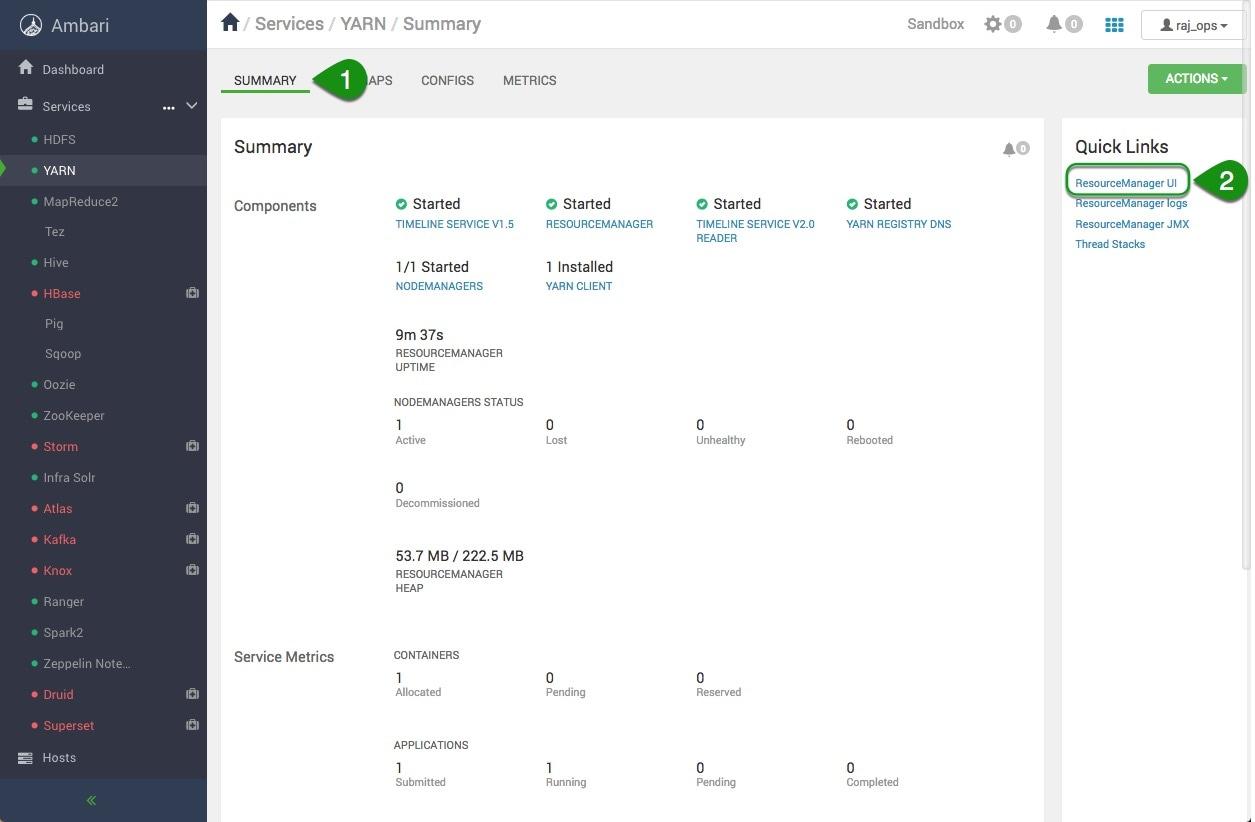 Configuring Yarn Capacity Scheduler with Apache Ambari