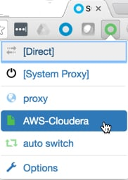 Configuring a SOCKS Proxy for Amazon EC2 | 6 3 x | Cloudera