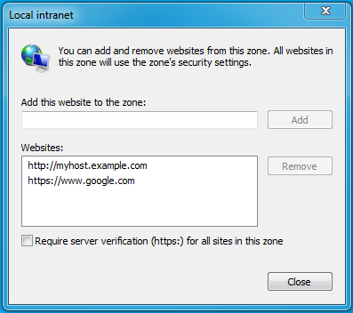 How to Configure Browsers for Kerberos Authentication | 5 12