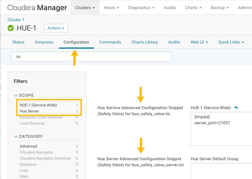 Configuring Hue | 5 16 x | Cloudera Documentation