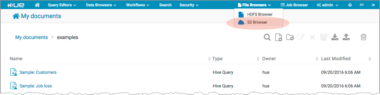 How to Enable S3 Cloud Storage | 5 9 x | Cloudera Documentation