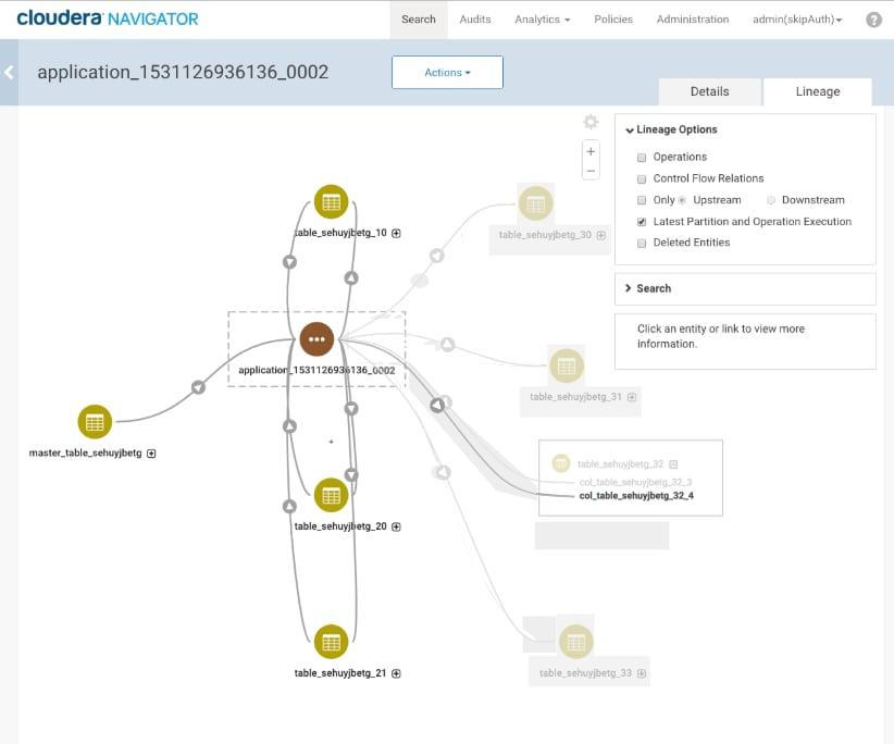 Generating Lineage Diagrams   6 1 x   Cloudera Documentation