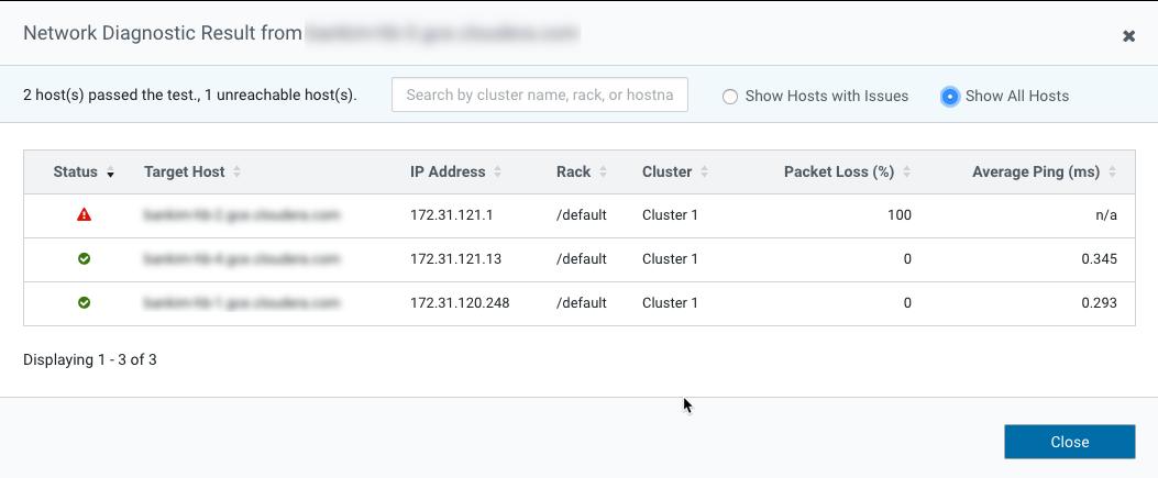 Inspecting Network Performance | 6 2 x | Cloudera Documentation