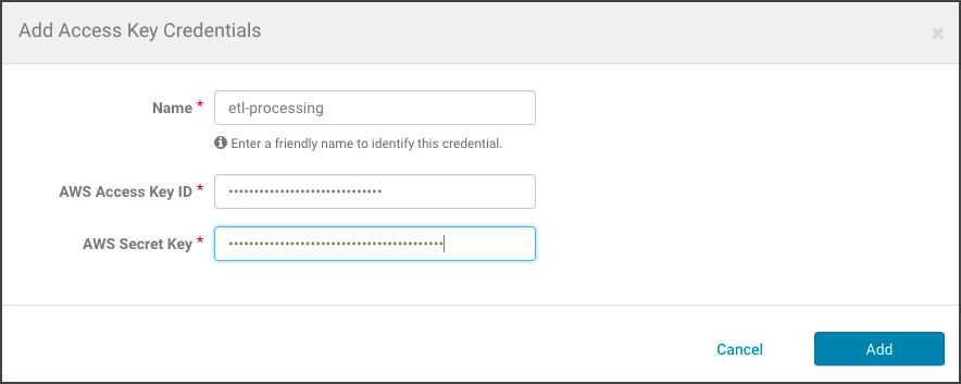 Configuring Extraction for Altus Clusters on AWS | 6 3 x | Cloudera