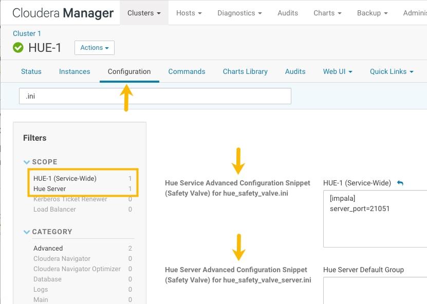 Configuring Hue   6 3 x   Cloudera Documentation