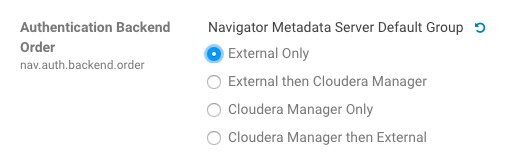 Known Issues and Workarounds in Cloudera Navigator Data Management