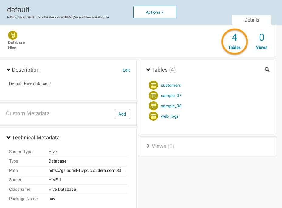 New Features and Changes in Cloudera Navigator Data